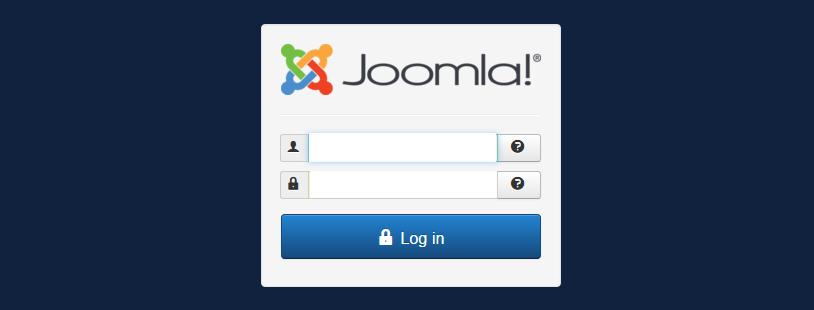 Joomla! - Inloggen in de back-end als Administrator