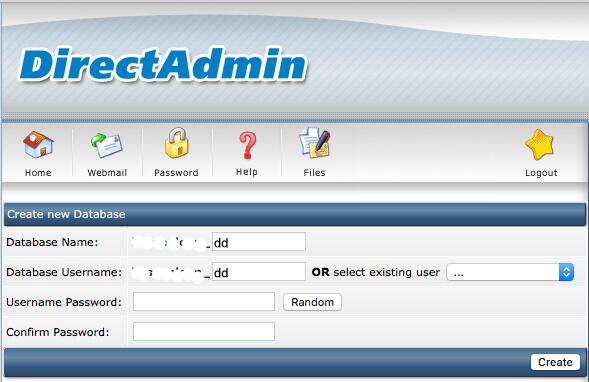 Creating New Database