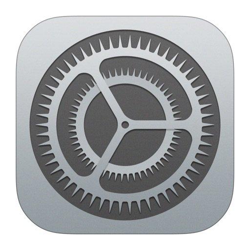 iPhone instellingen App