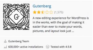 Gutenberg-plugin